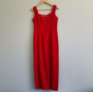 80's Liz Claiborne Slit Gown